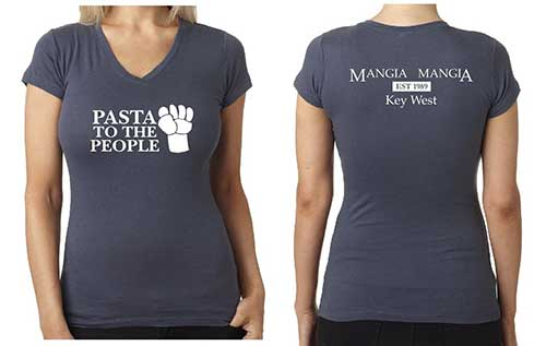 Pasta To The People  Women's T-shirt